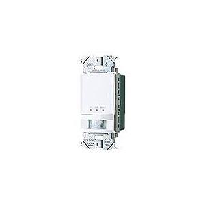 WTA14119W パナソニック 壁取付 熱線センサ付自動スイッチ(親器) マットホワイト