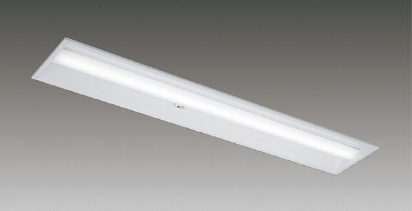 LEKR422403YWW-LD9 東芝 TENQOO 埋込ベースライト LED(温白色) センサー付