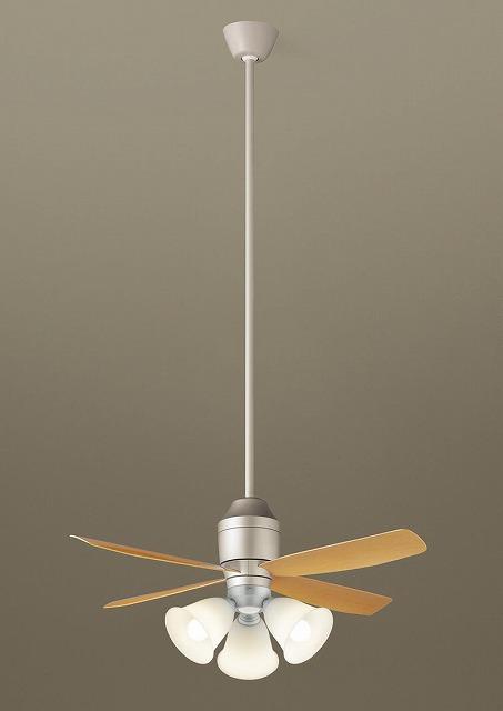 XS72544K パナソニック シーリングファン シルバーメタリック LED(電球色) ~8畳