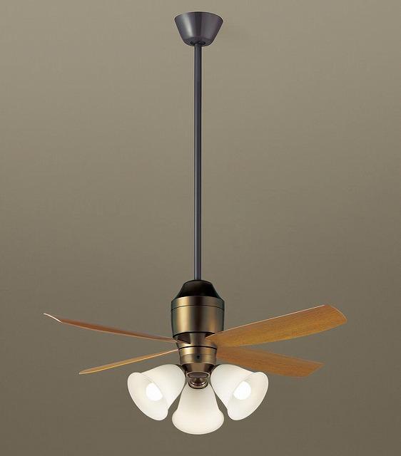 XS73145K パナソニック シーリングファン 金色古味 LED(電球色) ~8畳