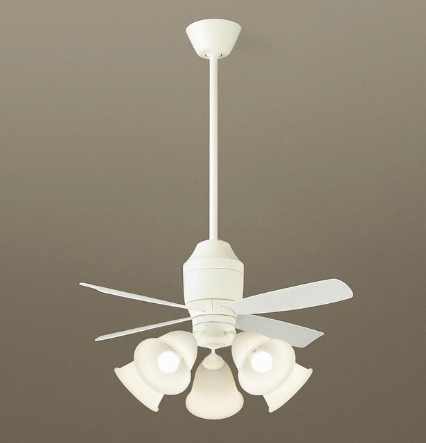 XS75240K パナソニック シーリングファン ホワイト LED(電球色) ~14畳