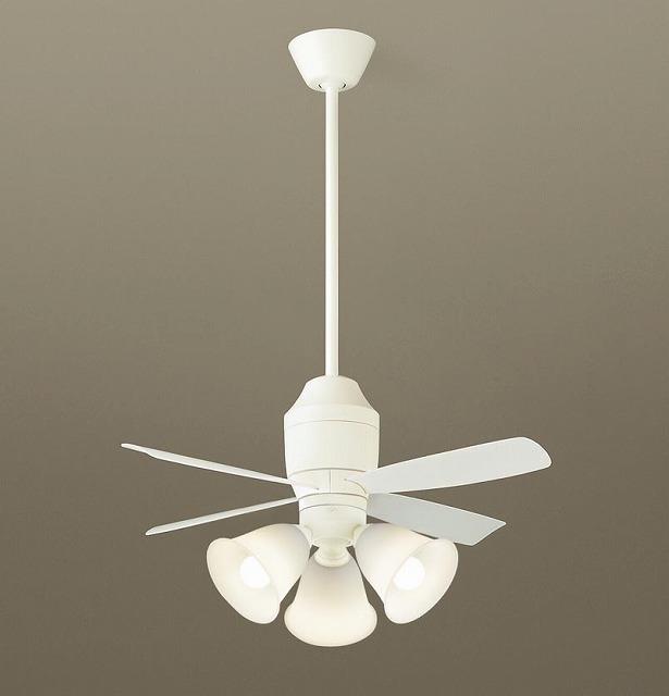 XS75243K パナソニック シーリングファン ホワイト LED(電球色) ~8畳