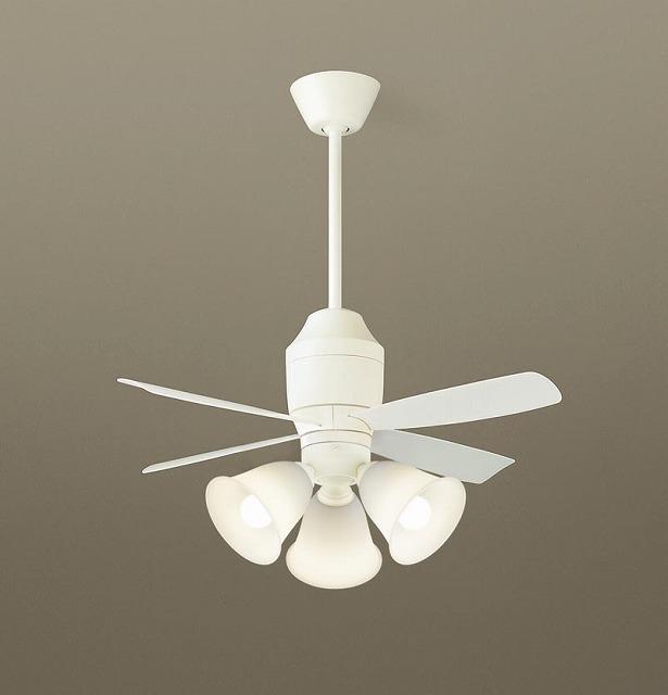 XS75343K パナソニック シーリングファン ホワイト LED(電球色) ~8畳