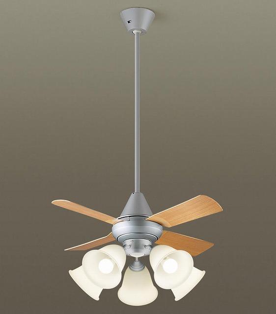 XS96141K パナソニック シーリングファン ライトシルバー LED(電球色) ~14畳