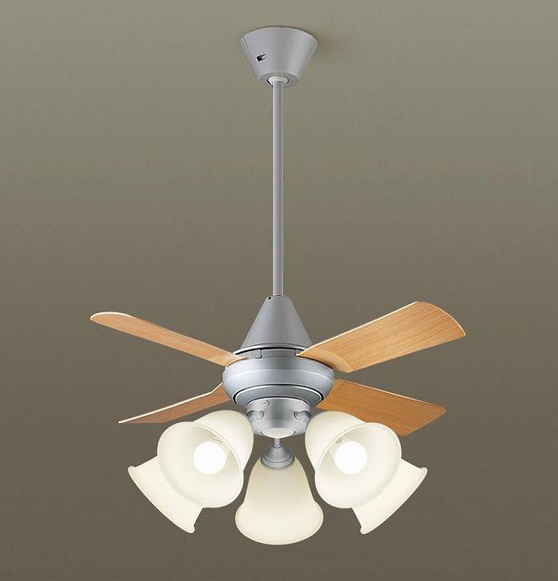 XS96241K パナソニック シーリングファン ライトシルバー LED(電球色) ~14畳