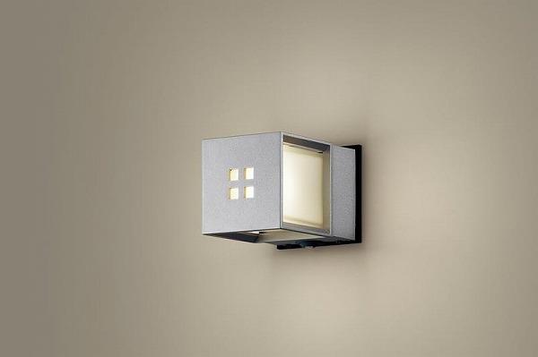 LGWC85040SU パナソニック ポーチライト シルバー LED(電球色) センサー付
