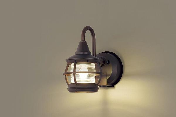 LGWC85216Z パナソニック ポーチライト ダークブラウン LED(電球色) センサー付