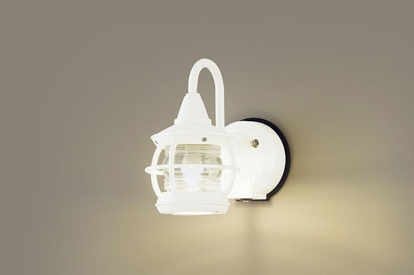 LGWC85218Z パナソニック ポーチライト ホワイト LED(電球色) センサー付