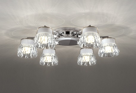 OC257138 オーデリック シャンデリア LED 電球色 調光 ~8畳 ODELIC