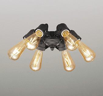 WF834LC オーデリック シーリングファン灯具 ブラック LED 電球色 調光 ~4.5畳 ODELIC