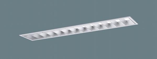 XLX413EENTLE9 パナソニック 埋込型ベースライト 40形 ルーバ付 LED(昼白色) (XLX413EENZLE9 後継品)