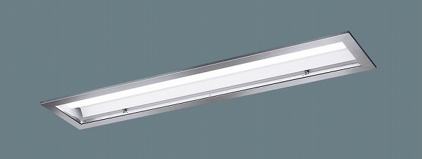 XLX421JENTLE9 パナソニック 埋込型ベースライト 40形 クリーンルーム用 ステンレス枠 LED(昼白色) (XLX421JENZLE9 後継品)