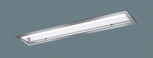 XLX456ZENTLE9 パナソニック 埋込型ベースライト 40形 クリーンルーム用 ステンレス枠 LED(昼白色) (XLX456ZENZLE9 後継品)