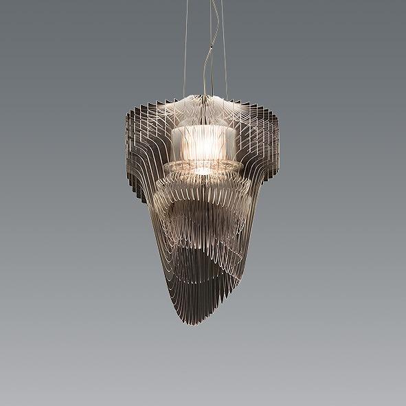 XRP6074C 遠藤照明 ペンダントライト クリア φ500 LED(電球色) イタリア製