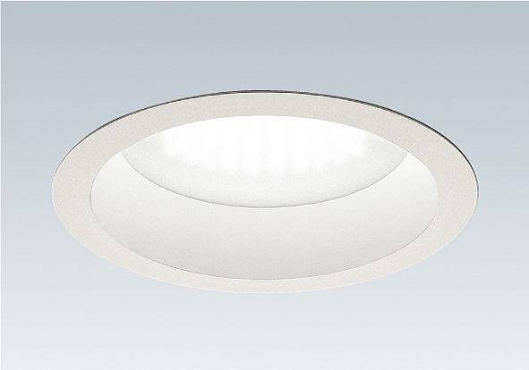 EFD4067W 遠藤照明 浅型ベースダウンライト φ200 LED 温白色 Fit調光 超広角