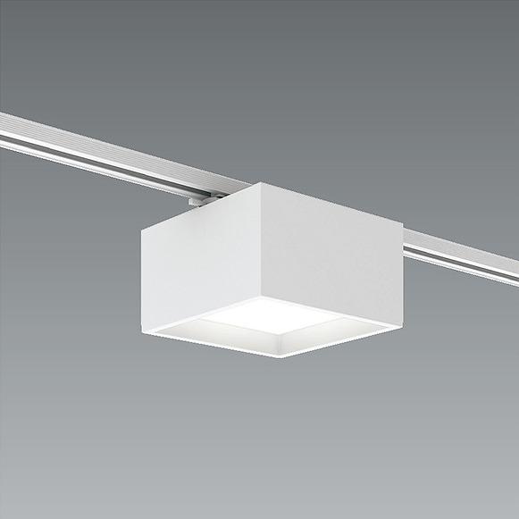 EFG5438W 遠藤照明 レール用シーリングダウンライト □225 LED 白色 Fit調光 超広角