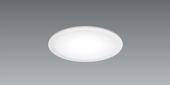 EFK9439W 遠藤照明 フラットベースライト パネル付 半埋込 LED 電球色 Fit調光