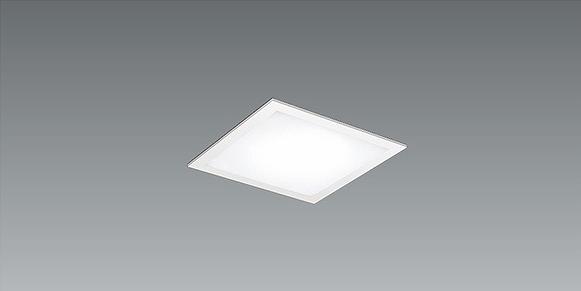 EFK9506W 遠藤照明 フラットベースライト パネル付 半埋込 LED 電球色 Fit調光