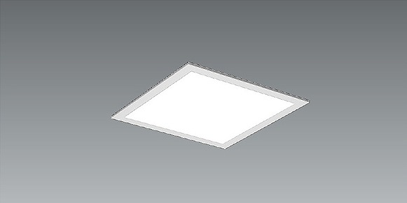 EFK9734W 遠藤照明 スクエアベースライト パネル付 埋込 LED 白色 Fit調光