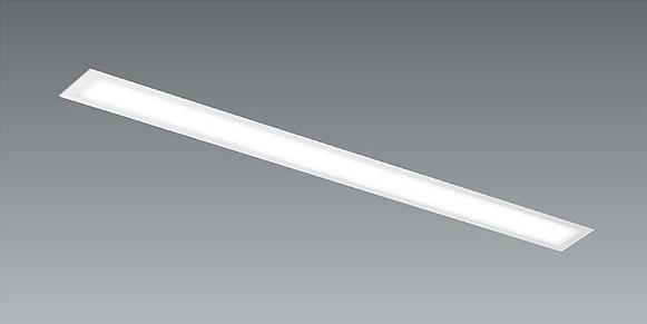 EFK9856W 遠藤照明 フラットベースライト 調光/非調光兼用型 パネル付 埋込 LED 温白色 Fit調光