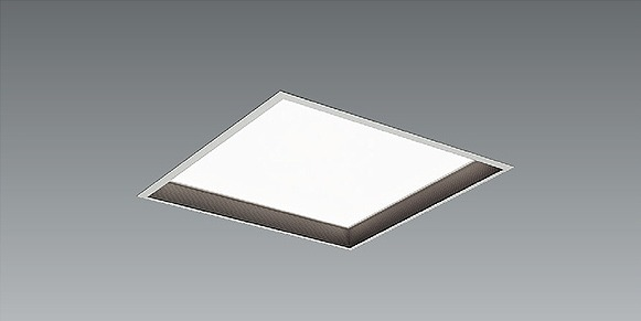 EFK9922B 遠藤照明 スクエアベースライト 黒バッフル 深型 LED 白色 Fit調光