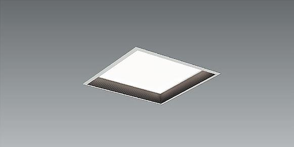 EFK9924B 遠藤照明 スクエアベースライト 黒バッフル 深型 LED 昼白色 Fit調光
