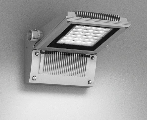 ERB6015SA 遠藤照明 屋外用ブラケット シルバー 下向き LED(白色) 横長配光