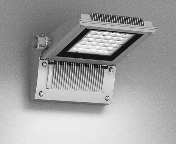 ERB6016SA 遠藤照明 屋外用ブラケット シルバー 下向き LED(電球色) 横長配光