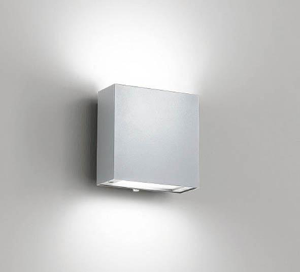ERB6043SB 遠藤照明 屋外用ブラケット シルバー LED(電球色) 両側配光
