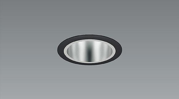 ERD6887B 遠藤照明 ベースダウンライト 黒枠鏡面コーン LED(電球色) 超広角