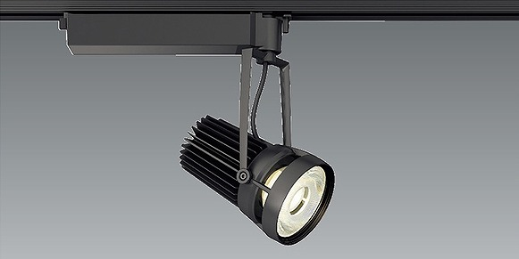 ERS6011B 遠藤照明 レール用スポットライト 生鮮食品用 黒 フレッシュE 広角