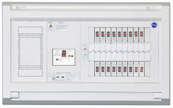 YALG35182 50A テンパール 住宅用分電盤 単3中性線欠相保護付漏電遮断器 パールテクト (YALG35182)