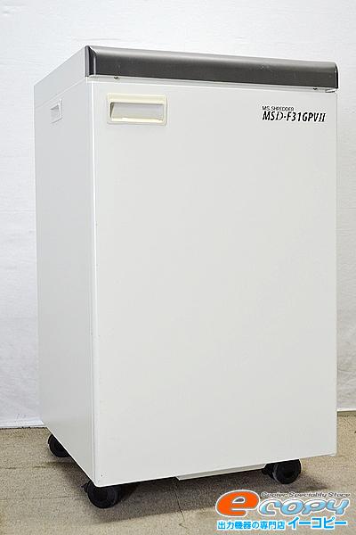 中古業務用シュレッダー/内部清掃済み/現行機種明光商会 MSD-F31GPVII/最大枚数28枚バイブレーションプレス機能グラデーションランプ付【中古】【中古】, とやまけん:1ac03db1 --- officewill.xsrv.jp