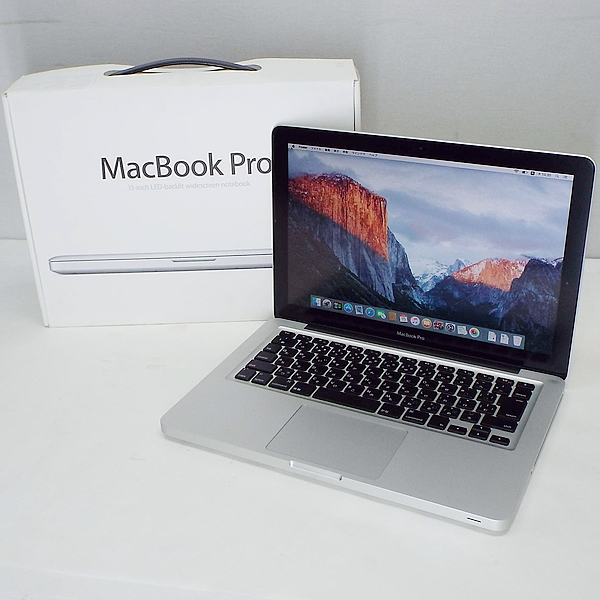 【中古】 Apple MacBookPro A1278 [ Core i7 2640M 2.8GHz HDD 750GB メモリ4GB OS X Capitan 10.11.6 ]