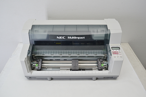 訳有 ピン抜け 中古ドットプリンター NEC MultiImpact700XAN PR-D700XAN 【中古】 パラレル LAN