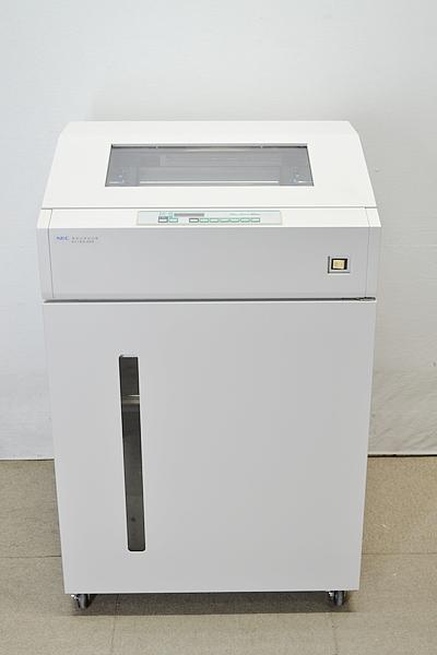 中古ドットプリンター ラインプリンターExpress5800シリーズ NEC N1153-025【中古】 プリンタ接続ボード付 中古リボン付