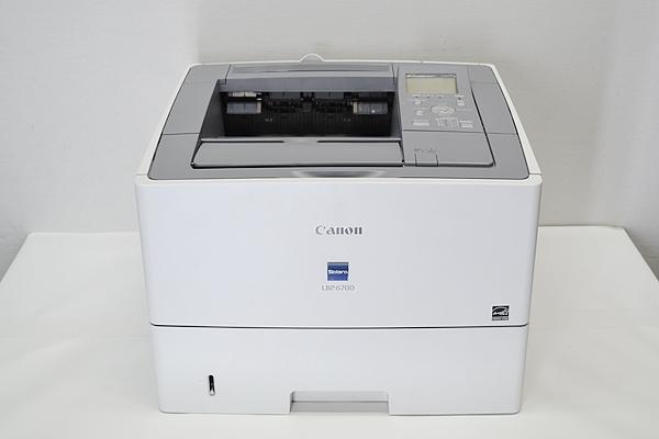 中古A4プリンター カウント数17988Canon/キャノン Satera LBP6700USB/LAN トナー無し【中古】両面印刷WindowsXP Windows2000