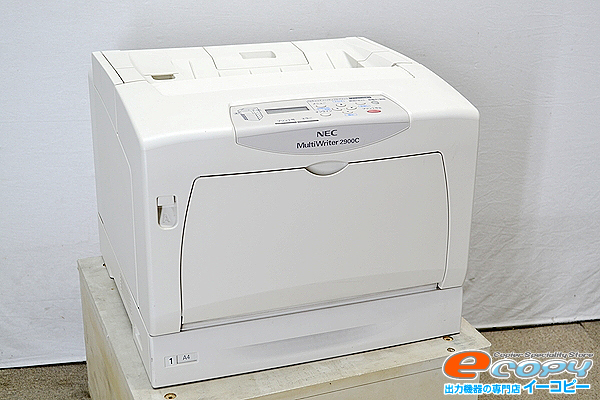中古A3カラーレーザープリンターNEC/日本電気 MultiWriter 2900Cカウンタ2819枚 A3 カラー 【中古】