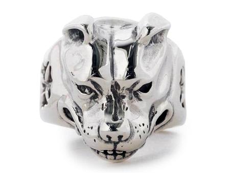 Bill Wall Leather (ビルウォールレザー)Large Dog Head Ring (ラージドッグヘッドリング)