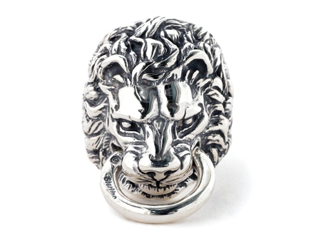 BILL WALL LEATHER(ビルウォールレザー)/LION RING IN THE MOUTH(ライオンリングインザマウス)