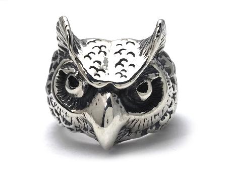 BILL WALL LEATHER(ビルウォールレザー)/ Owl Ring Medium (オウルリングミディアム)