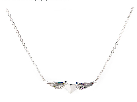 ALEX STREETER(アレックスストリーター)/LARGE HEARTWING NECKLACE(ラージハートウイングネックレス)