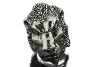 CRAZY PIG(クレイジーピッグ)/LION HEAD(ライオンヘッドリング)