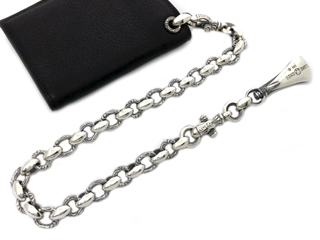 LONE ONES(ロンワンズ)/HERON SHORT WALLET CHAIN (ヘロンショートウォレットチェーン)
