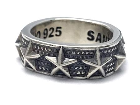 CODY SANDERSON(コディサンダーソン)/NALLOW 9 STAR RING(ナロウ9スターリング)