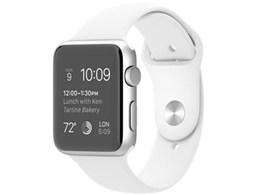 アップル / APPLE Apple Watch Sport 42mm MJ3N2J/A [ホワイトスポーツバンド] 【ウェアラブル端末】【送料無料】