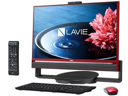 ★NEC LAVIE Desk All-in-one DA770/BAR PC-DA770BAR [クランベリーレッド] 【デスクトップパソコン】
