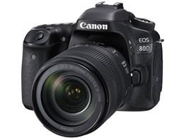 ★キヤノン / CANON EOS 80D EF-S18-135 IS USM レンズキット 【デジタル一眼カメラ】【送料無料】