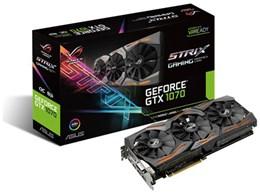 エイスースASUS ROG STRIX GTX1070 O8G GAMINGPCIExp 8GBグラフィックボード・ビデオカード送料無料stQrdh