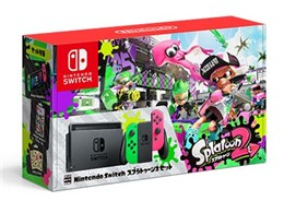 ●【アウトレット 保証書他店印付品】Nintendo / 任天堂 Nintendo Switch スプラトゥーン2セット(3000円クーポン貼付なし)